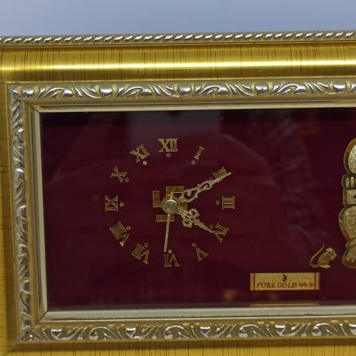 Ganesha Clock Frame S2