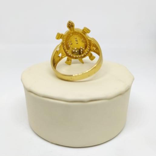 Tortise Cz Ring