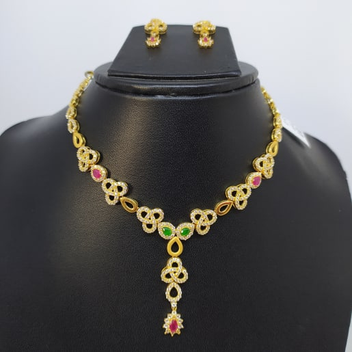 Latha Cz Necklace Set