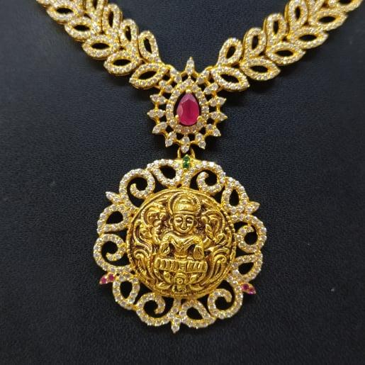 Lakshmi Cz Necklace
