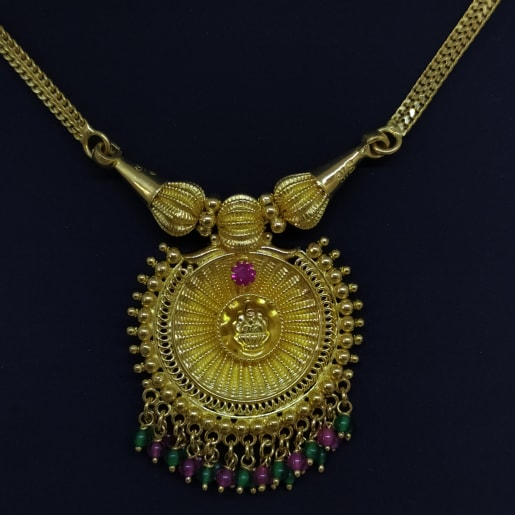 Lakshmi Stone 2 Necklace