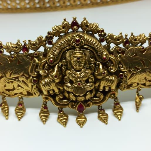 Lakshmi Antique Nakash Kamarbandh Daab