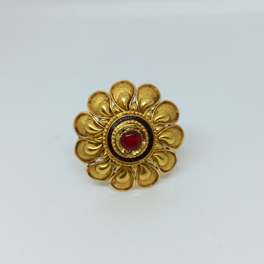 Antique Flower Ring