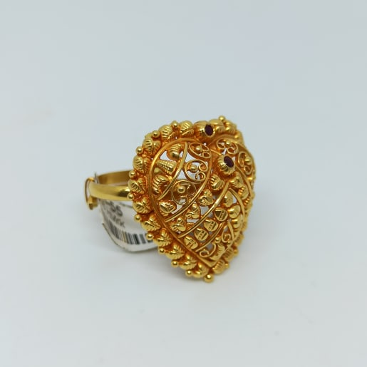 Heart Shape Temple Ring