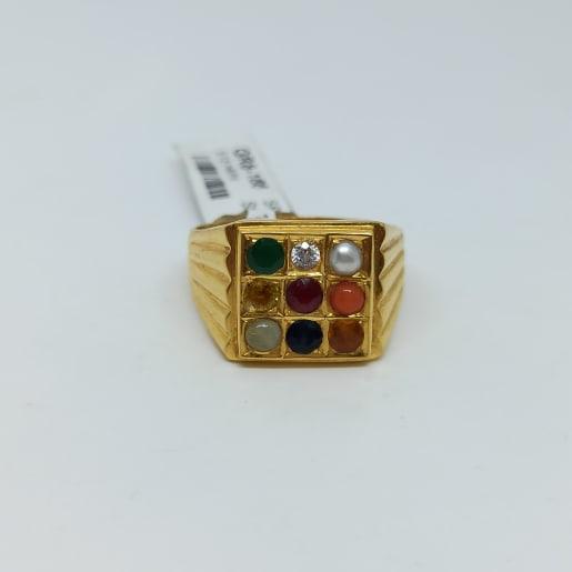 Navrathna Gold Ring 2
