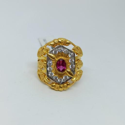 Yami Gold Cocktail Ring