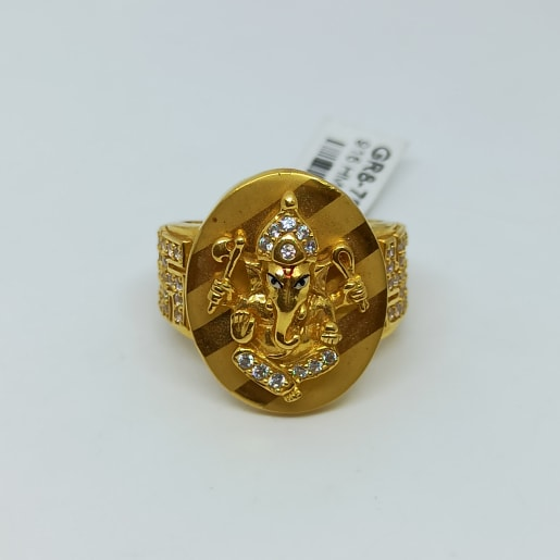 Ganesh Cz Ring
