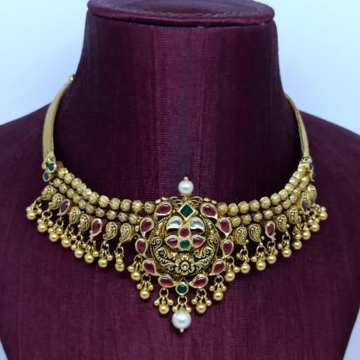 Colorstone Antique Necklace