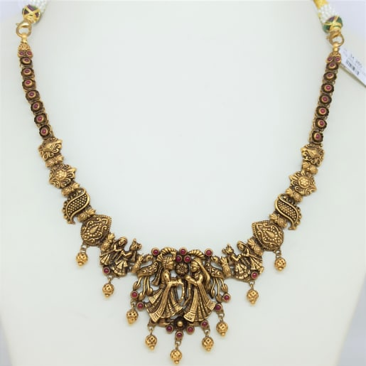 Kanyakumari Antique Necklace