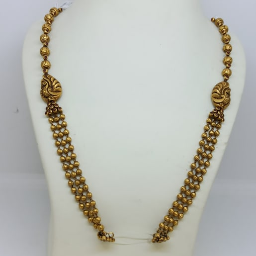 Antique Gundu Necklace Mala