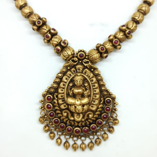 Lakshmi Gundu Antique Necklace