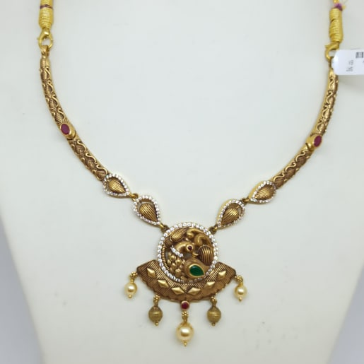 Mayurika Antique Necklace