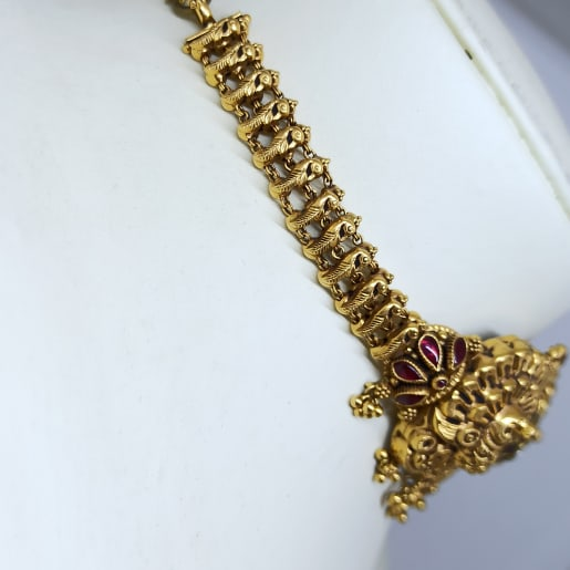 Peacock Antique Choker