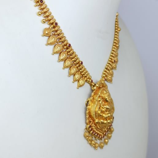 Lakshmi With Mango Chain Haram