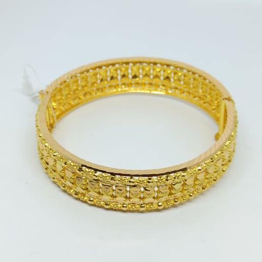 Ella Plain Gold Kada