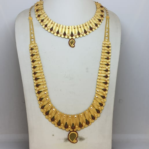 Hansanandini Haram And Necklace