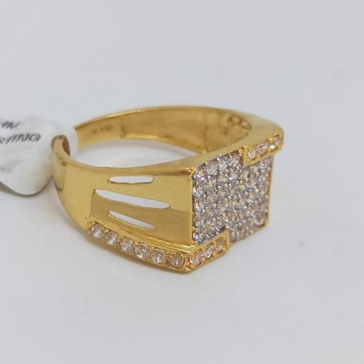 Box Cz Ring