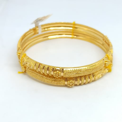 Small Bead Design Bangles