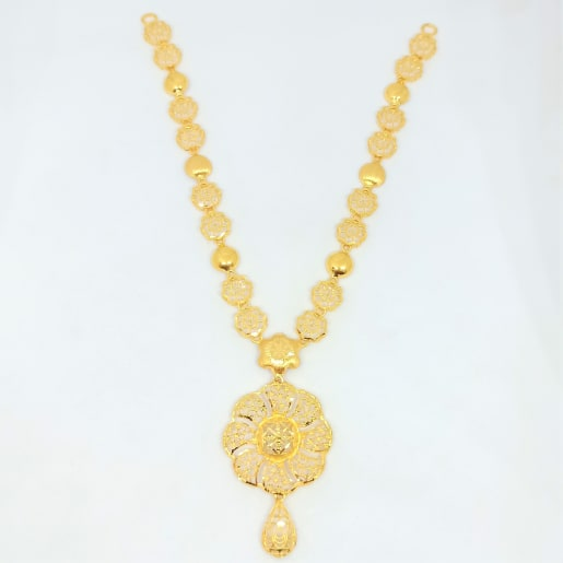 Floral Jali Necklace