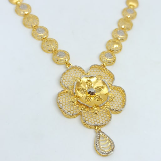 Floral Jali Necklace 2