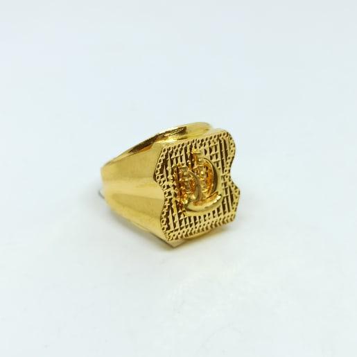 Ship Plain Gold Ring