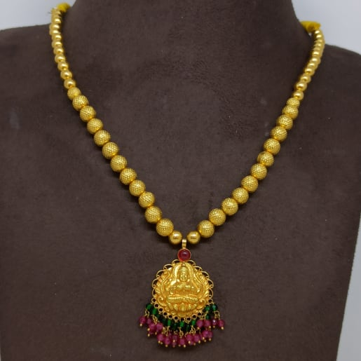 Lakshmi Ball Bead Necklace