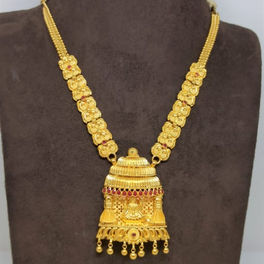 Lakshmi Temple Traditional Necklace