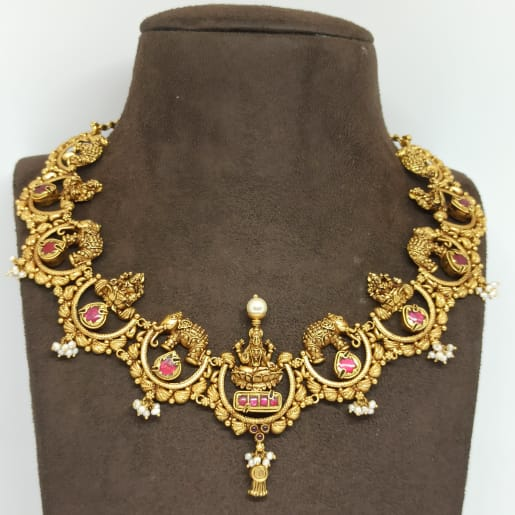 Lakshmi Antique Moti Necklace