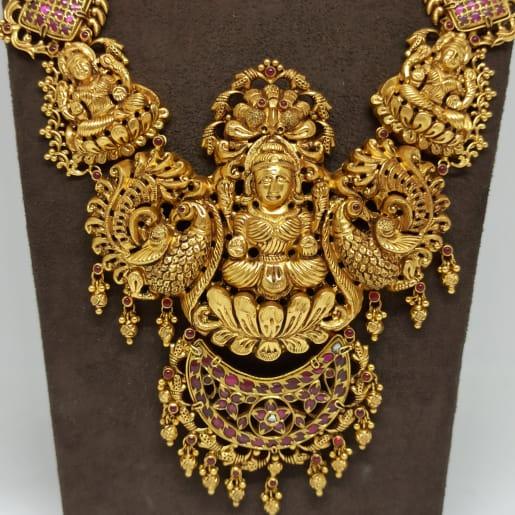 Sri Lakshmi Antique Traditional Haram
