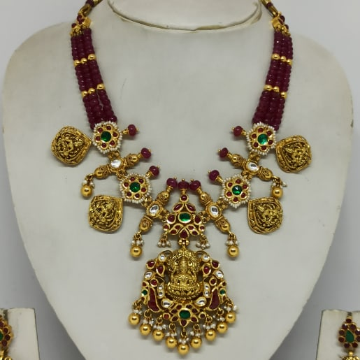 Antique Lakshmi Mala Necklace