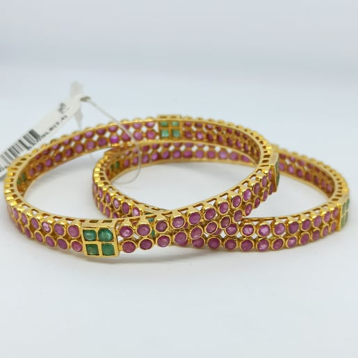 Colorstone Traditional Bangles
