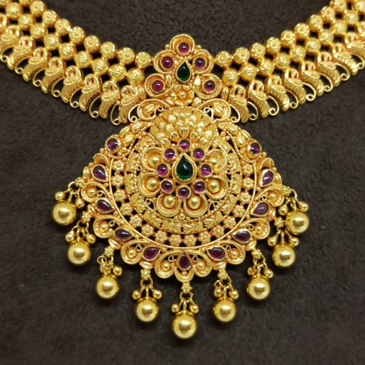 Nadhini Traditional Necklace