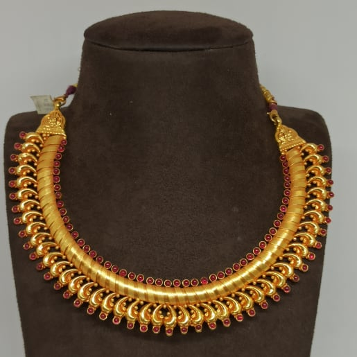 Spiral Design Traditional Necklace