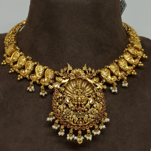 Lakshmi Floral Designer Necklace