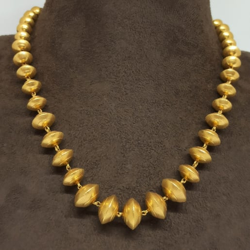 Disk Bead Antique Necklace