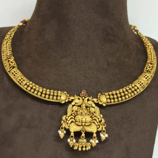 Antique Lakshmi Bead Necklace