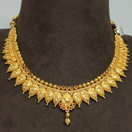 Lakshmi Leaf Traditional Necklace