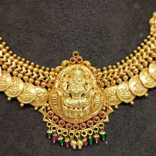 Lakshmi Kasina Sara Necklace