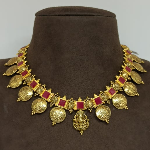 Kasina Sara Ruby Necklace