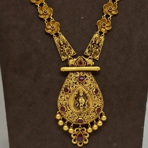 Pear Shape Lakshmi Floral Haram
