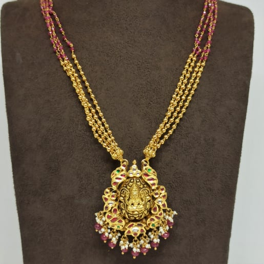 Lakshmi Kundan Mala Necklace