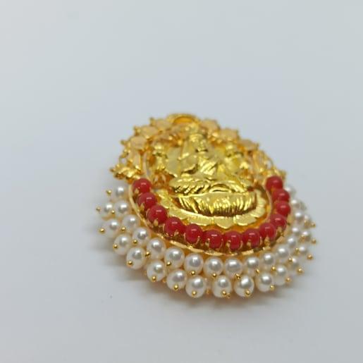 Lakshmi Ruby Stone Pendant