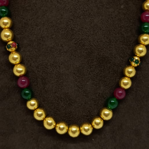 Colour Gundu Necklace