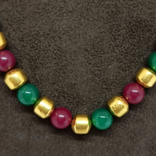 Colourful Gundu Necklace