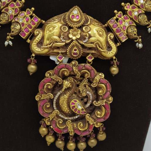 Gajraj Antique Necklace