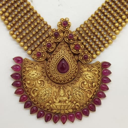 Gold Ball Traditional Necklace