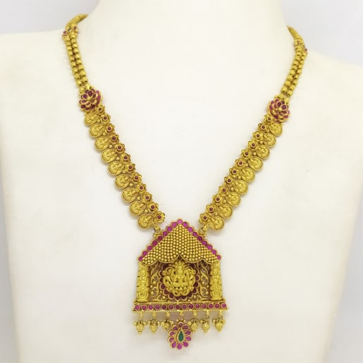 Designer Lakshmi Antique Necklace