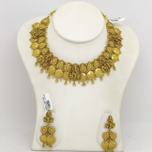 Lakshmi Kasina Necklace Set