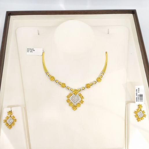 Anamika Cz Necklace Set