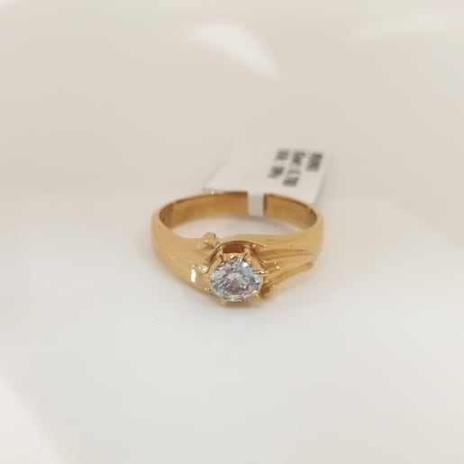 Solitaire Cz Ring